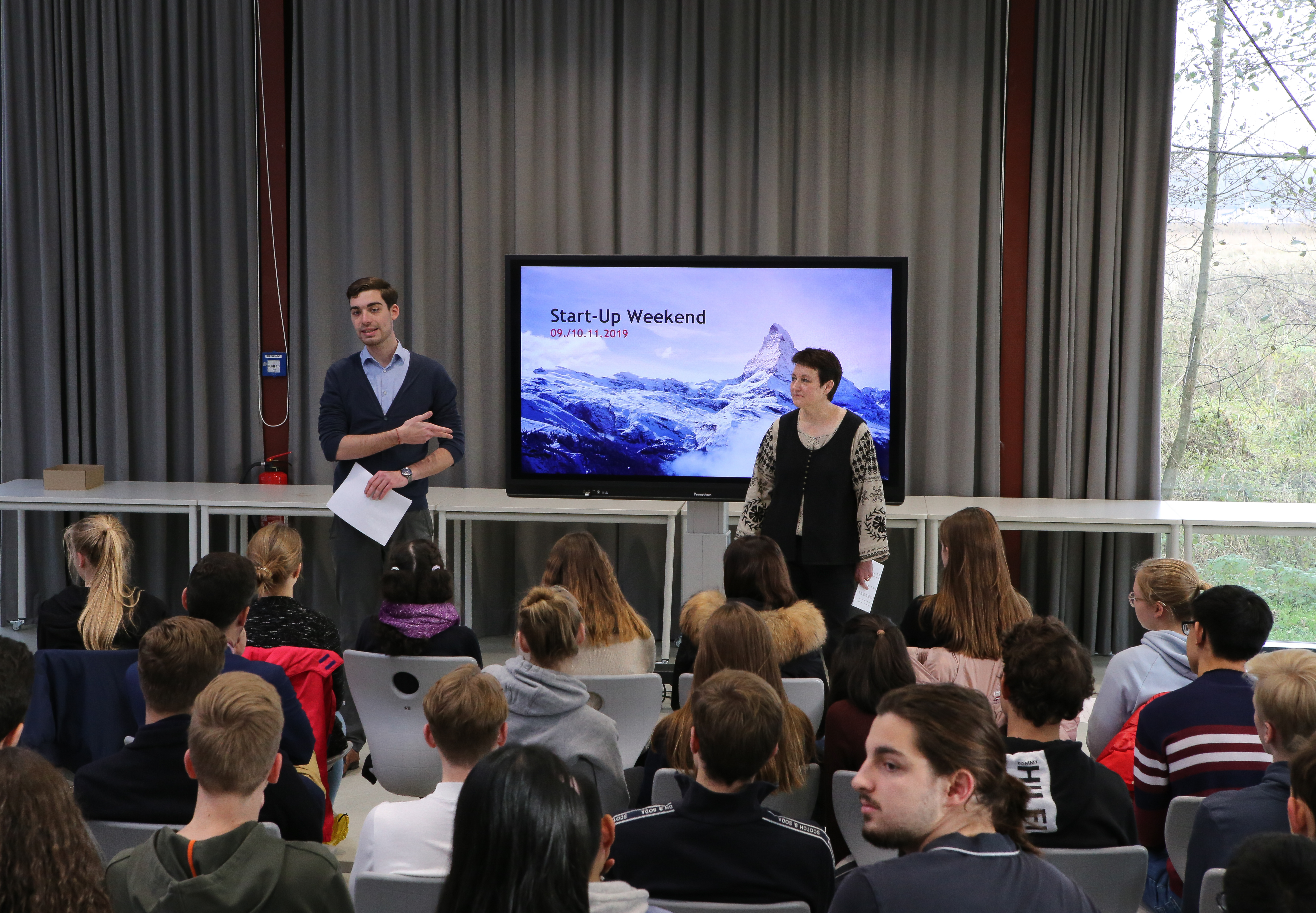 Erstes Louisenlunder Start-up Weekend